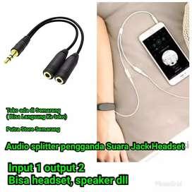 Kabel Audio splitter audio Semua 22nya Output Suara pengganda Headset