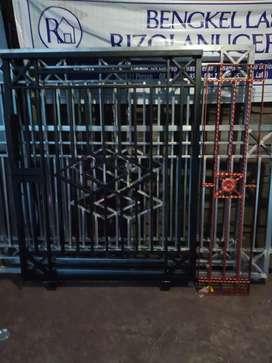 Pintu pagar minimalis Ter murah