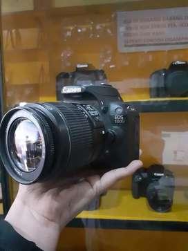 Kamera Canon 100D + 18-55mm