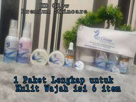 HD Glow skincare 1 paket lengkap
