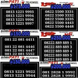 Nomor Simpati Loop As 4G Kwarted Triple abc Cantik Nomer Telkomsel