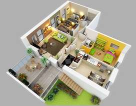 I am a Part Time Designer Interior or Exterior with drawings i prepare