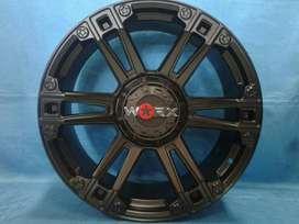 free ongkir pelek mobil hsr wheel untuk pajero  dan fortuner ring22x95