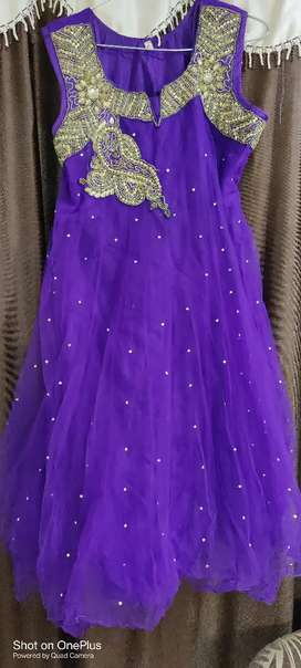 Anarkali dress in very good condition