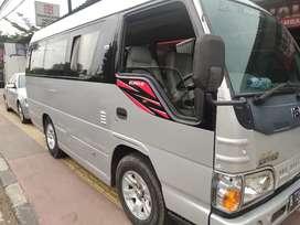 Isuzu ELF minibus 2014 km 34rb tangan pertama dari baru seperti baru