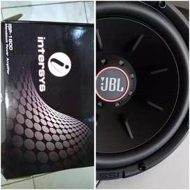 Monoblok Intersys + subwfr JBL 12 dbl coil dbl magnet # HD Audio Jogja