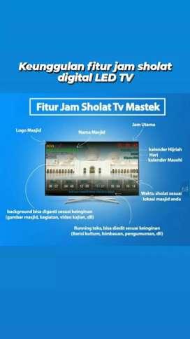 Jam TV LED murah bergaransi