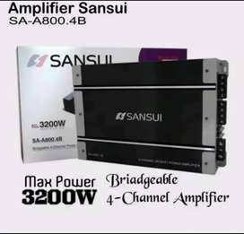 Power 4ch Sansui Sa.A800.4B tenaga badak
