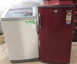 Fridge and washing machine for sale good running conditions