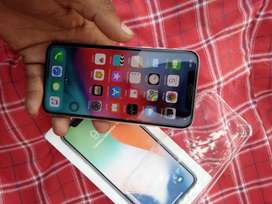 Apple iPhone x 64 GB silver condition