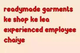 Sales girl need for readymade garment shop