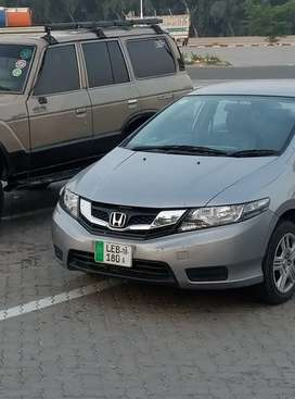 Bank leased Honda City Manual ivtec manual with Sat-Nav