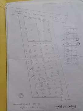 2 plots with panchayat approval available for sale