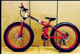 B. M 21 SHIMANO GEARS FAT TYRE BICYCLE