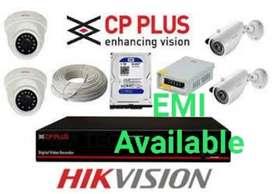 Branded cctv cameras on Emi