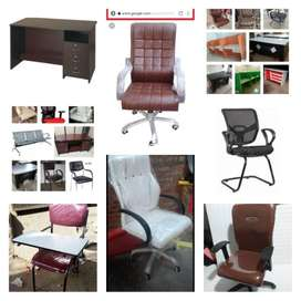 Furniture gallery office table and office chairs available