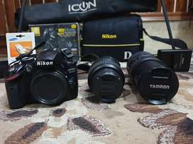 Nikon d3200 with complete accessories and extras
