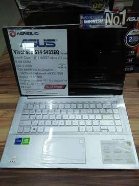 Laptop Asus S433EQ Core i7 Gen 11 Terbaik di Sleman