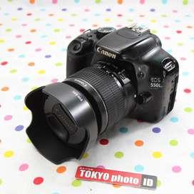 Canon 550D Lensa kit