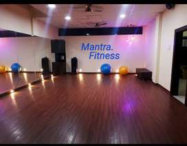 Dance and zumba hall fully furnished