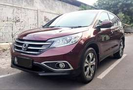 OVER KREDIT Honda CR - V Prestige AT Matic 2013 Merah Marun