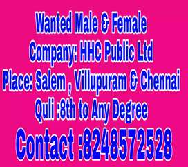 Wanted male & female