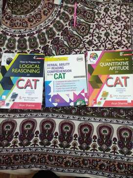 CAT preparation  study material brand new (need urgent )