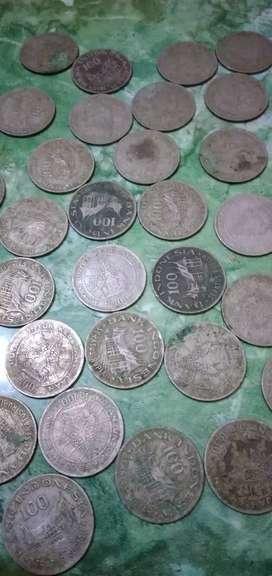Uang logam jadul Th 1978 dan 1971