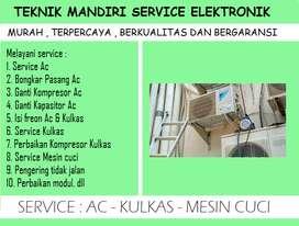 Panggilan service Ac split , Pompa air SANYO bocor , Mesin cuci