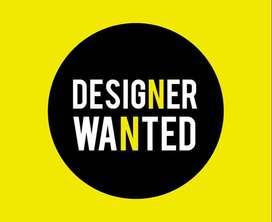 Wanted Freelance Graphic Designer