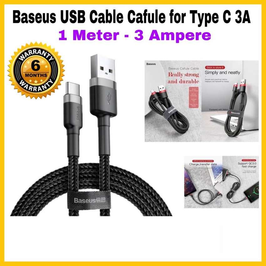 USB Cable Baseus Cafule for TYPE-C Original 0