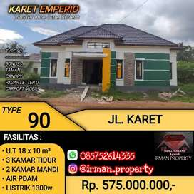 Cluster One Gate Sistem karet Emperio Residence Type 90