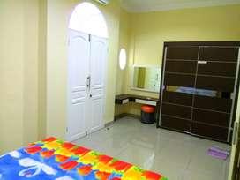 Rumah sewa penginapan guest house harian mingguan