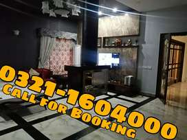 Short rental Luxury Furnished and indepented apartment in Mall of LHR.