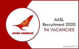 New vacancies ground staff, air ticketing, cabin crew