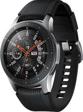 NEW  SAMSUNG Galaxy Watch 46 mm LTE Smartwatch  (Black Strap, Regular)