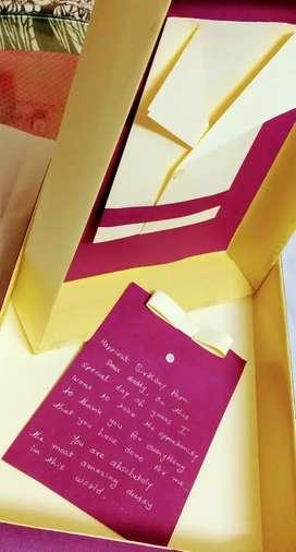 Handmade personalized decorative Gift Box
