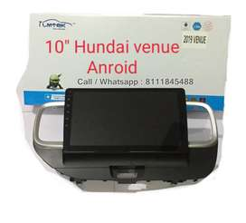 Hyundai Venue 10 inch Android Touch Music System