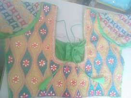 Hand embroidery work