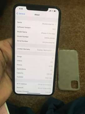 Iphone 11 pro max 256gb pta approved