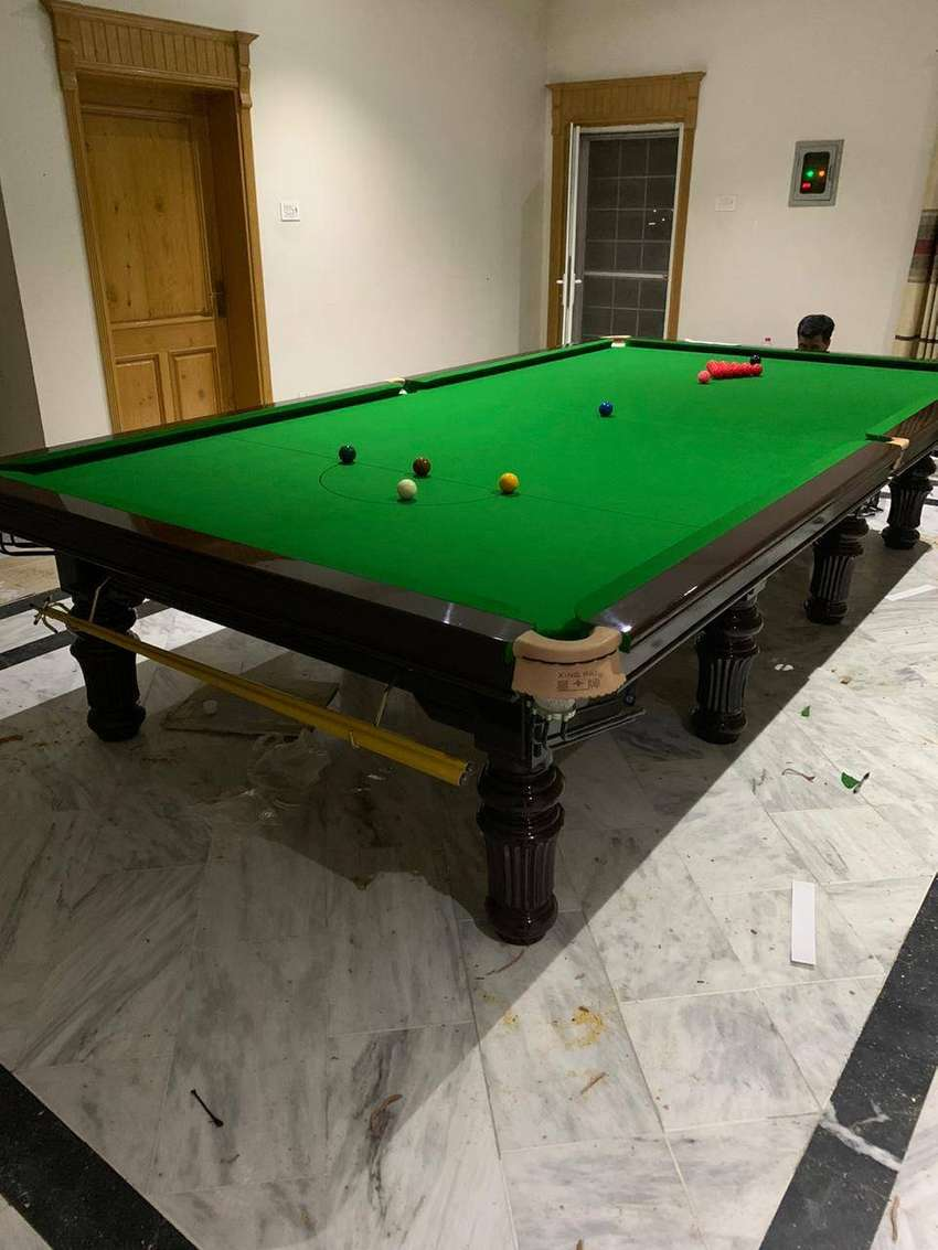 Dolphin snooker Factory new table
