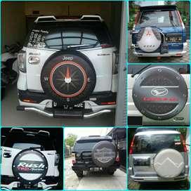 Sarung cover ban Rush Terios Escudo Vitara Taruna CR-V Touring Taft GT