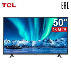 TCL 50'' P615 UHD Smart Android LED TV.