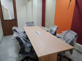 Full Furnished 150 seat 3 cabin reception confrence in 2.3 lakh rs