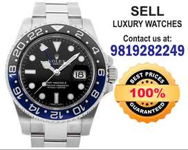 Selling Rolex Submariner Patek, Audemars,Vacheron, Omega Watch buyers
