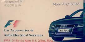 Car accessories & Auto Electrical work