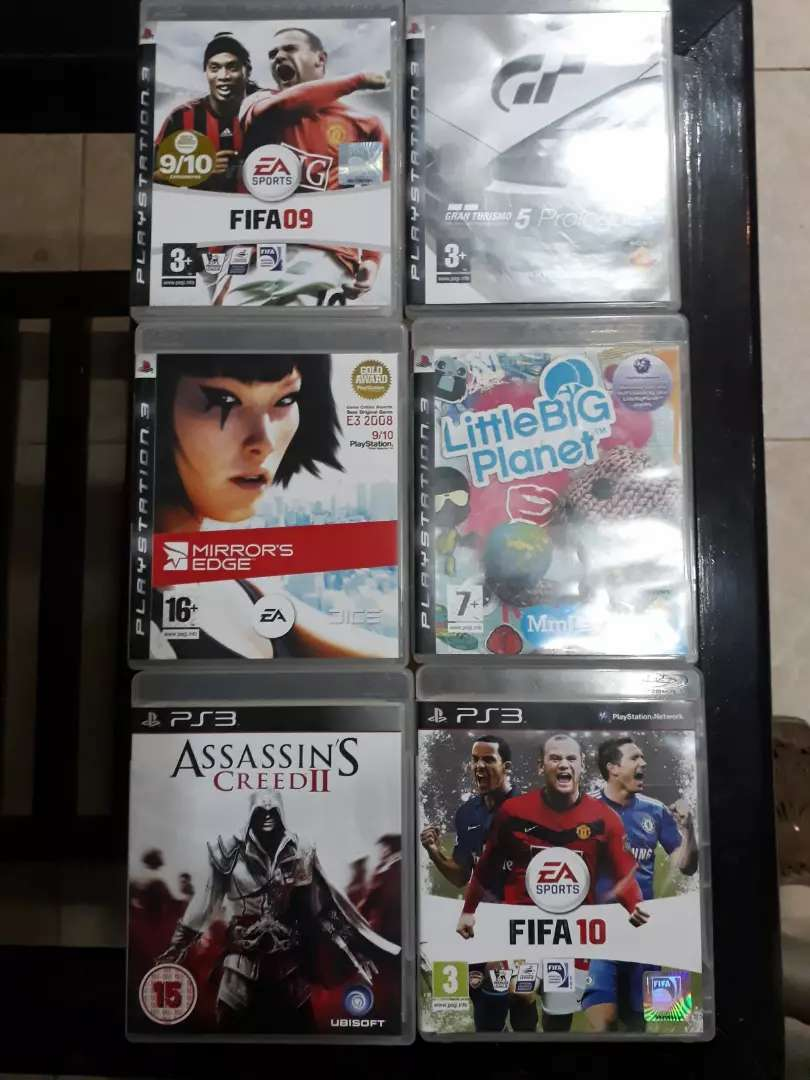 PS3 Play Station 3 Original Game CDs 0
