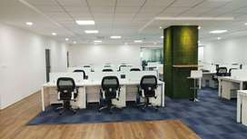 38 seater office space available at prime location