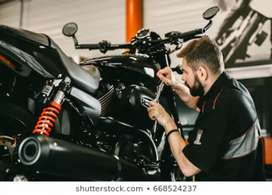 Motorcycle mechanic + Electrician required