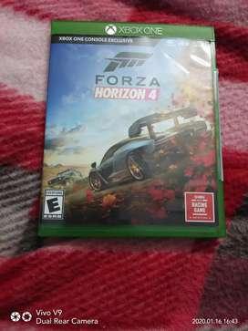 Forza Horizon 4 Xbox one Physical game disc